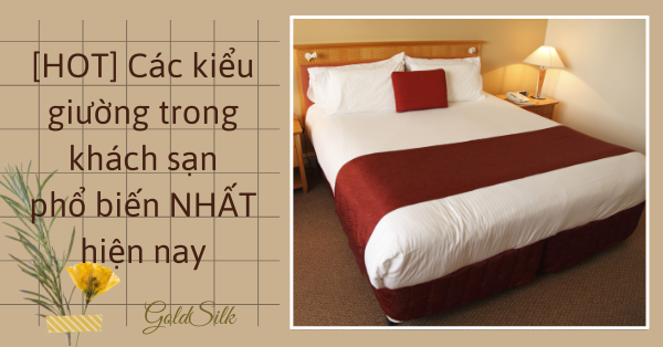 giường trong khách sạn